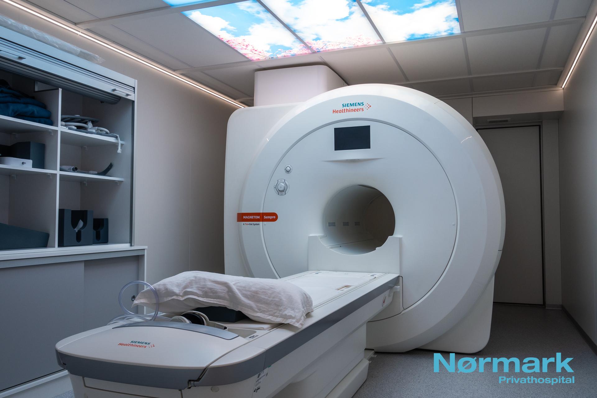MR Scanner Siemens Skanner Privathospital